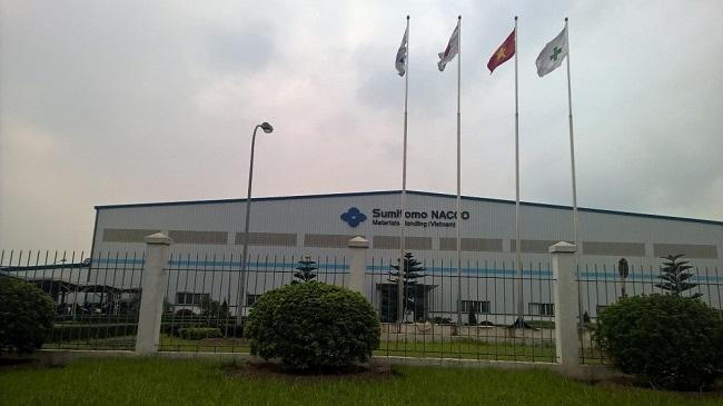 Lắp thước quang máy tiện tại Công Ty Sumitomo Nacco Việt Nam