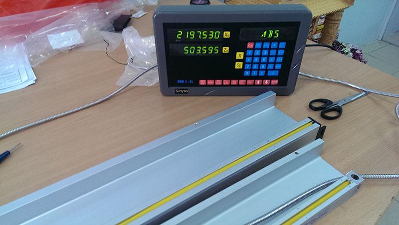 Cung cấp thước quang máy tiện Công Ty Cơ Khí & Xây Lắp Bàn Sơn
