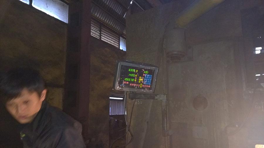 Cung cấp và lắp đặt thước quang máy doa tại Hà Nội cho Công Ty Formach 18