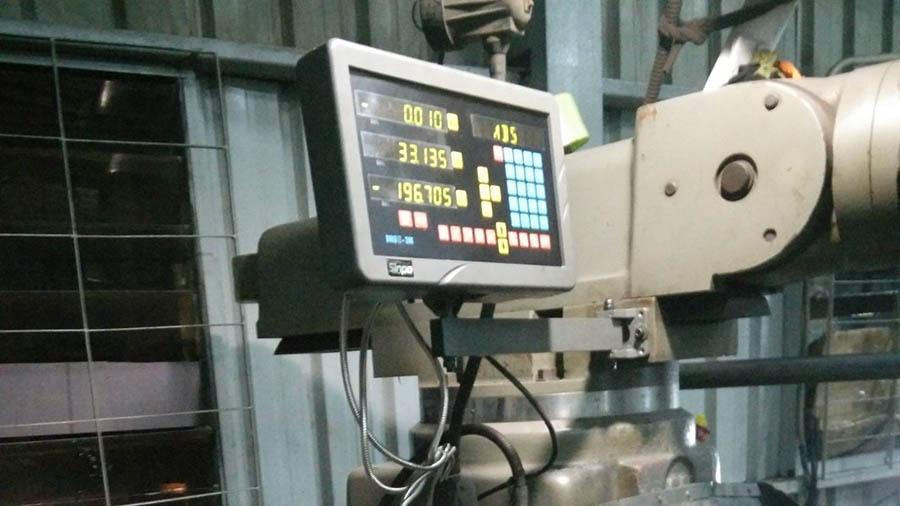 Cung cấp và lắp đặt thước quang máy phay tại DNTN Nhựa Chợ Lớn