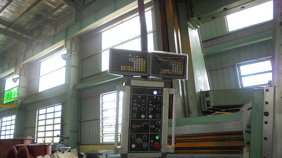 Cung cấp và lắp đặt thước quang máy tiện đứng tại Công Ty Cổ Phần Chế Tạo Bơm Hải Dương